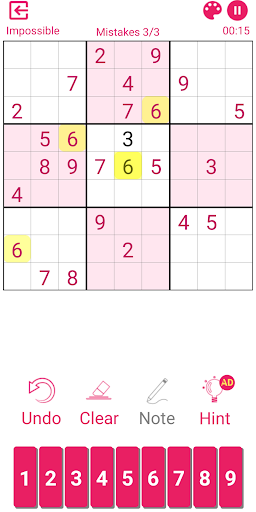 Sudoku 2.3.3.1 screenshots 4