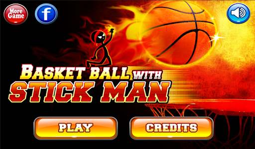 Stickman의 와 농구