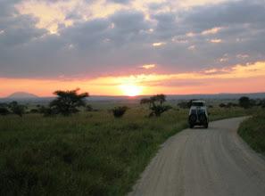 Photo: Osa retkistä tehtiin aamulla auringon noustessa tai illalla auringon jo laskettua