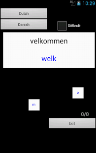 Dutch Danish Dictionary - screenshot thumbnail