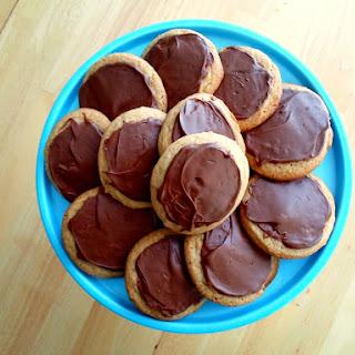 Chocolate Malt Cookies.