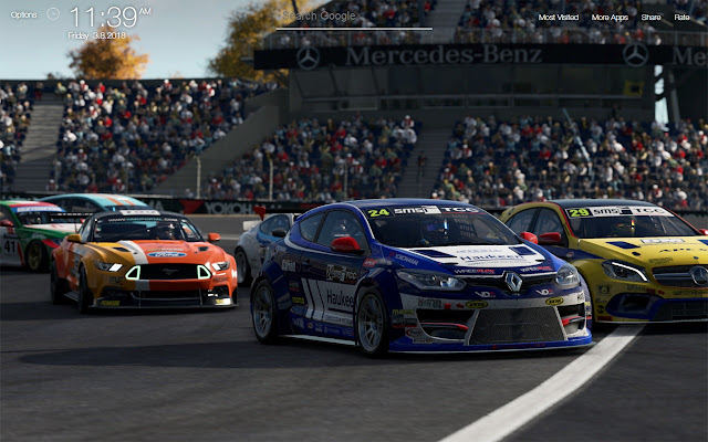 Project CARS 2 Wallpapers FullHD New Tab