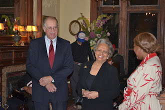 Photo: Clarence and Mable Robertson, Honorees with Rev. Dr. Valerie Oliver-Durrah, Pres and CEO NTAC