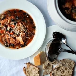 Tuscan Bread & Tomato Soup (Ribollita Soup)