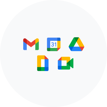 A set of Google Workspace for Education icons