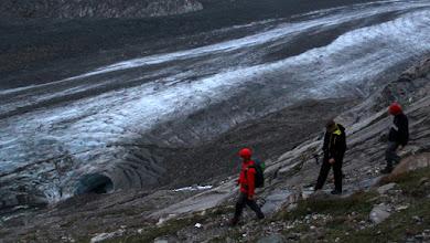 Photo: Lodowiec Pasterze, największy w Alpach Wschodnich, 8,3 km długości