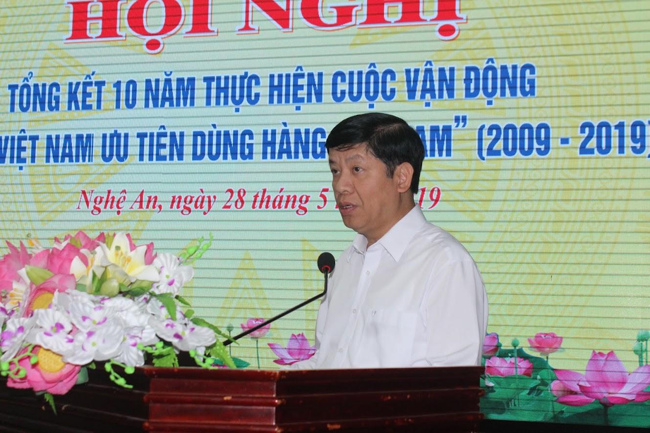 Ông Nguyễn Quốc Cường, Thứ trưởng Bộ Ngoại giao phát biểu tại Hội nghị