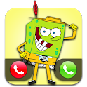Bob The Yellow Call - Fake Video Call with Sponge icon