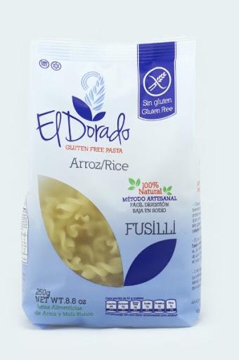 pasta de arroz fusilli dorado s/gluten 250g