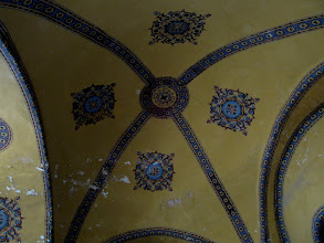 Photo: Day 114 - The Hagia Sophia, Ceiling in the Gallery