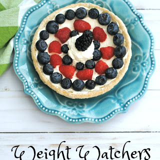 Weight Watchers Fruit Pizza ~ ONLY 2 SmartPoints.