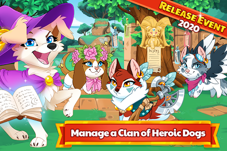Dungeon Dogs – Idle RPG Mod Apk 2.1.1 (Free Shopping) 8