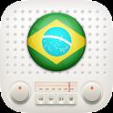Brazil AM FM Radios Free icon
