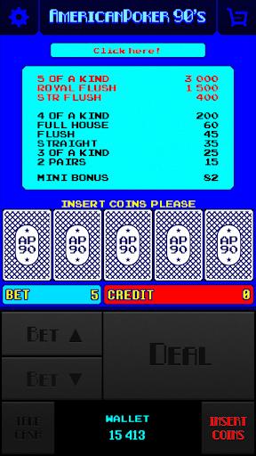 American Poker 90's  mod screenshots 1