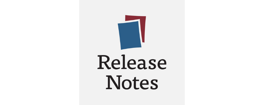Release notes Podcasts logo