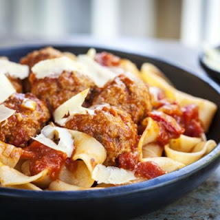 Crockpot Pasta With Meatballs