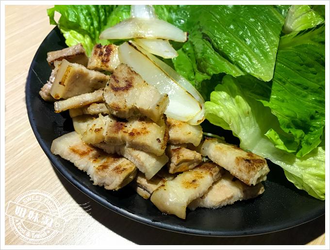 油蔥酥韓國烤肉村菜單厚切豬五花