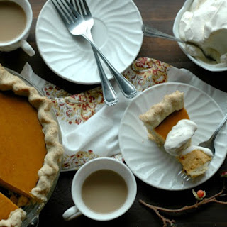 """Busy Momma"" Easy Peasy Gluten Free Pumpkin Pie"