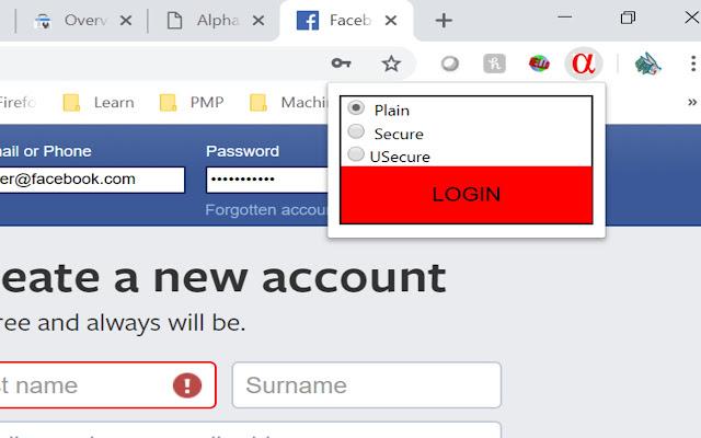 Alphaseq Chrome Extension