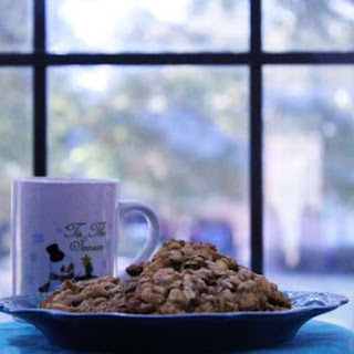Cranberry White Chocolate Chip Oatmeal Cookie