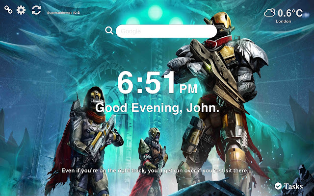 Destiny Wallpapers Themes New Tab