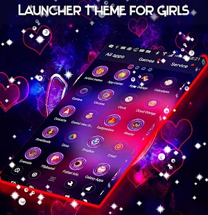 Launcher Theme for Girls - náhled
