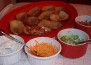 Homemade Potato Skins Recipe