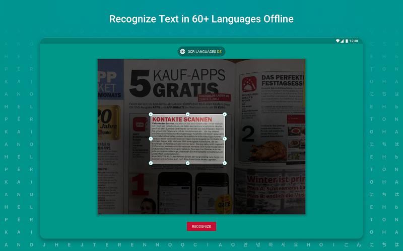 TextGrabber – image to text: OCR & translate photo Screenshot 9