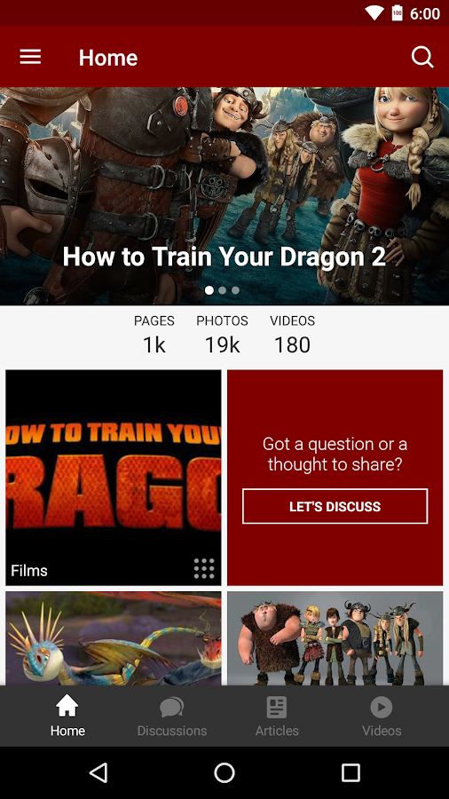 Fandom: Train Your Dragon- screenshot