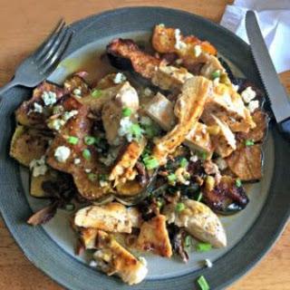 Chicken with Marsala Mushroom Sauce.