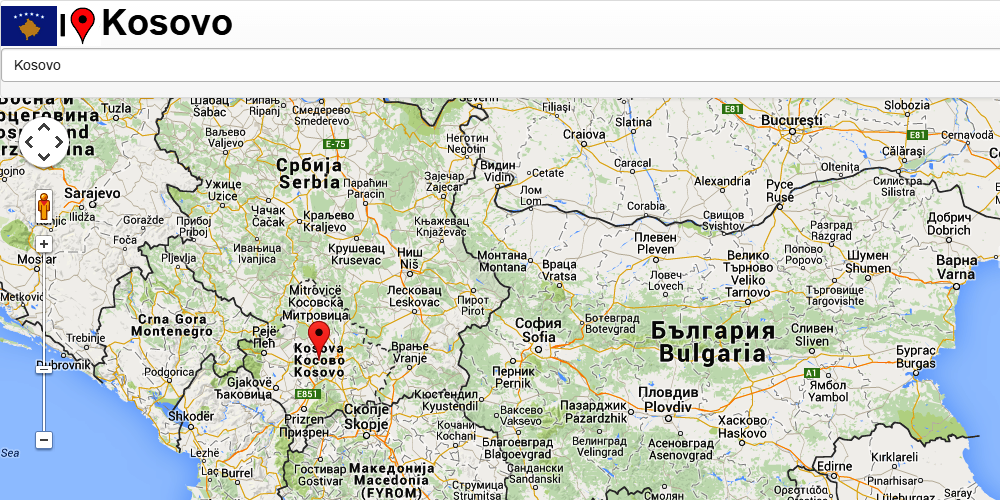 Kosovo Map Android Apps On Google Play - Kosovo map