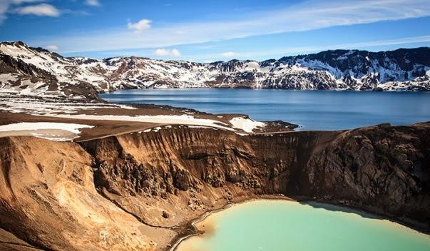 Caldeira vulcânica de Askja