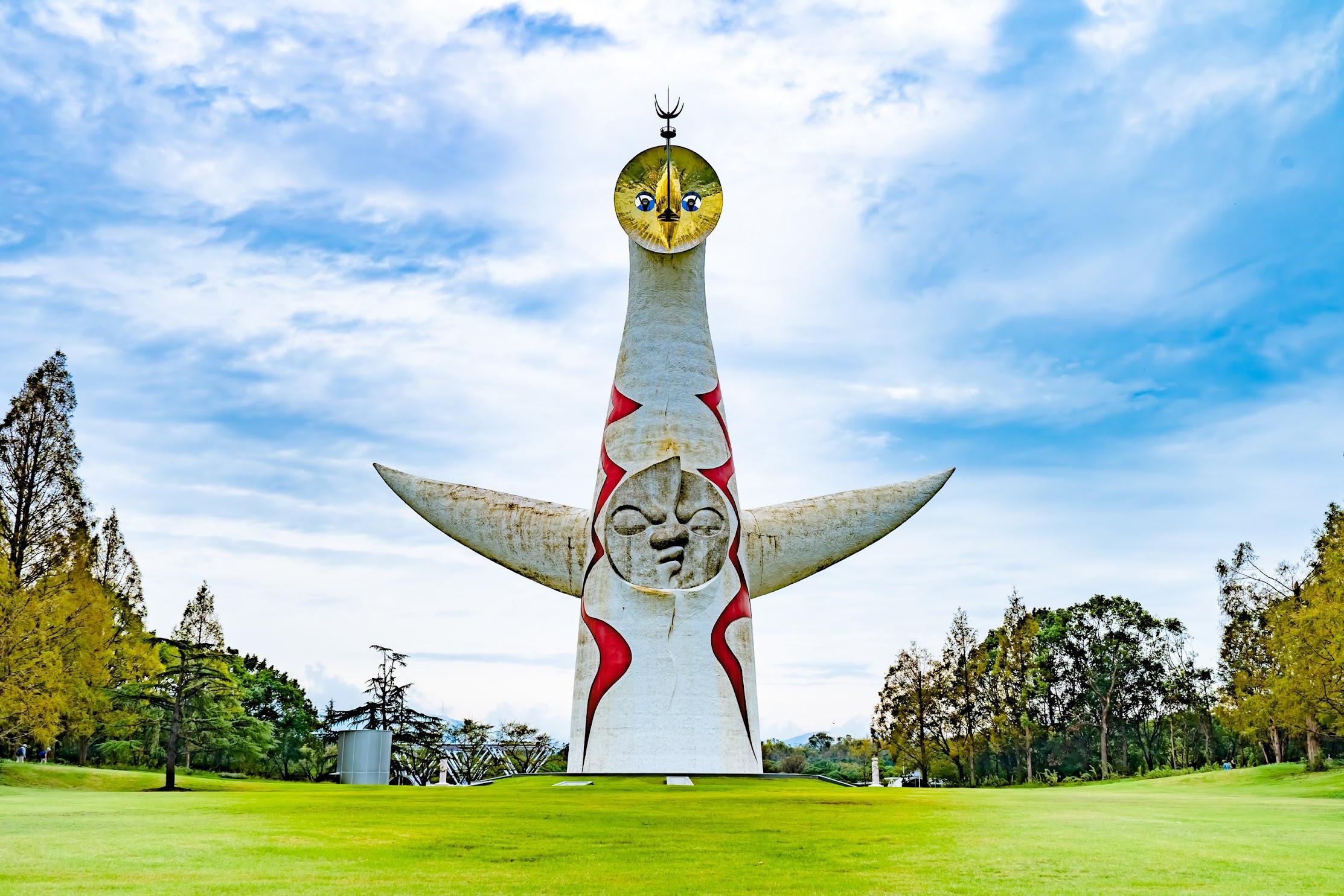 万博記念公園 太陽の塔1