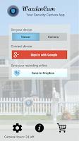 Screenshot of Home Security IP-Cam WardenCam