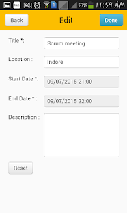 TimeCard for SharePoint Mobile- screenshot thumbnail