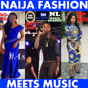NIGERIAN FASHION MEETS MUSIC