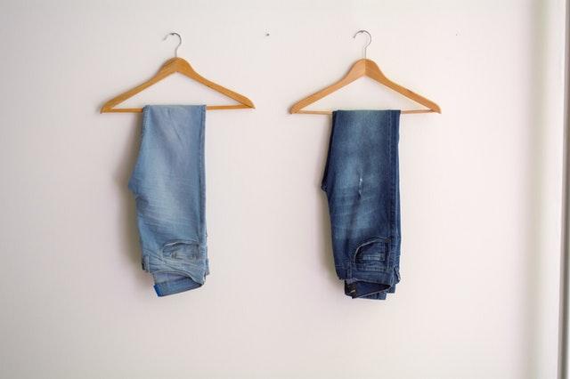 tailored wardrobe - jeans