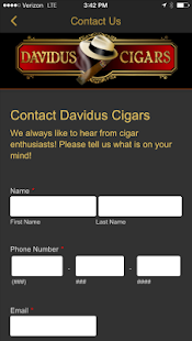 Davidus Cigars- screenshot thumbnail