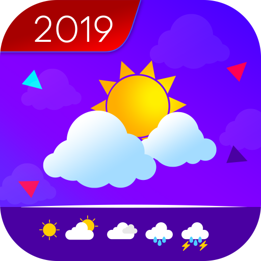 Weather Forecast & Clock Widget