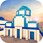 Santorini Island Craft: Building city in paradise