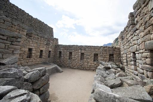 Part of the emperor's estate at Machu Picchu, Peru, elevation 8,000 feet.