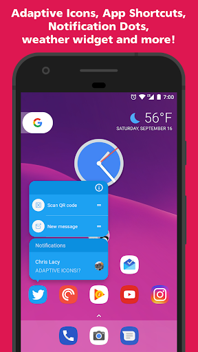 Action Launcher - Oreo + Pixel on your phone Screenshot