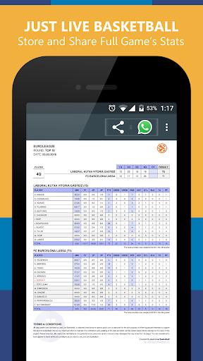 Just Live Basketball|玩運動App免費|玩APPs