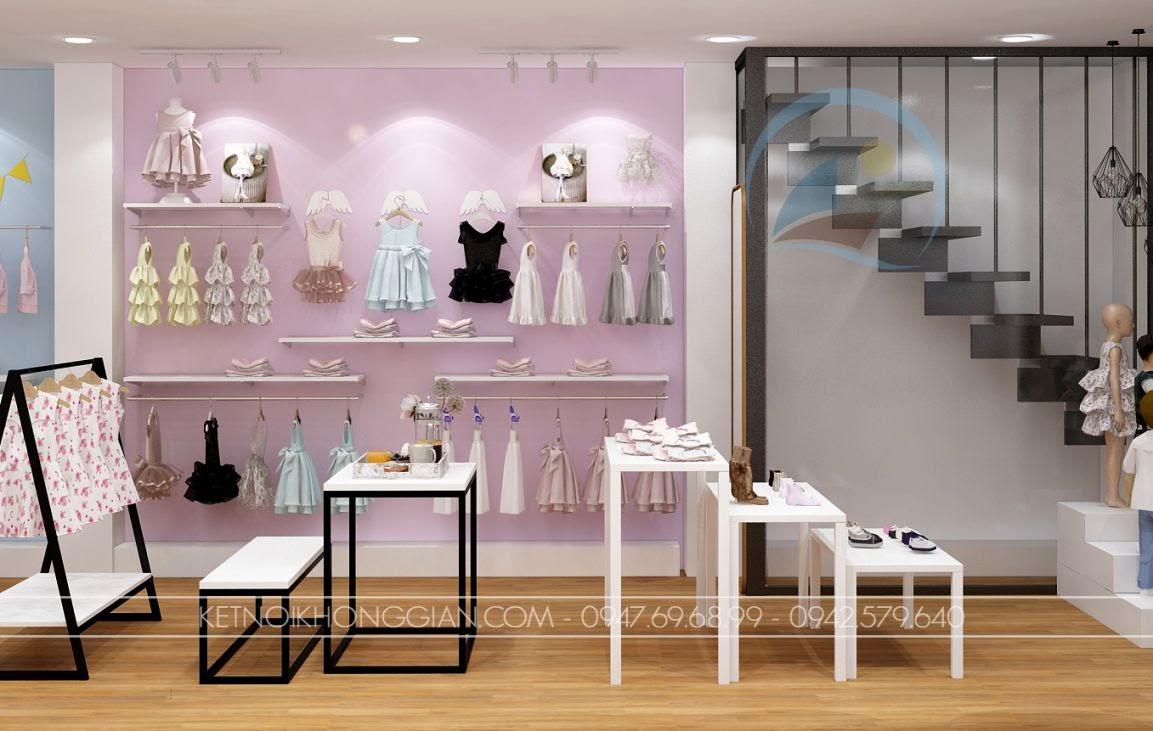 thiết kế shop thời trang trẻ em giá rẻ 13