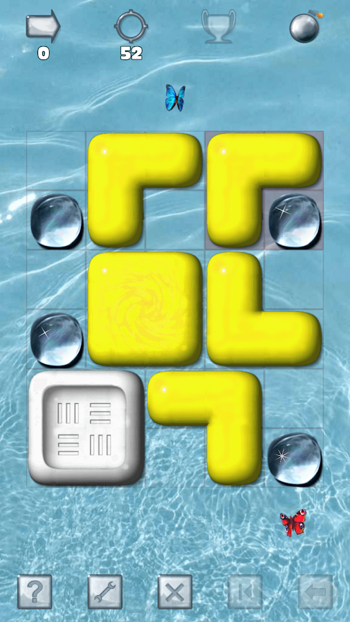 Sticky Blocks Sliding Puzzle- screenshot