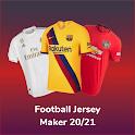Football Jersey Maker : 20/21 icon