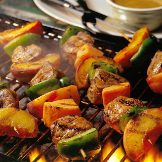 Honey Pork Tenderloin Kabobs Recipe