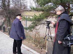 Photo: Jiří Fišar spouští kameru, zvu diváky na dobrodružnou cestu za poklady