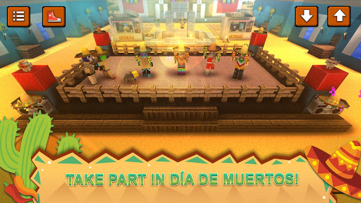 Mexico Craft: Bison & Burrito World Crafting Games for PC