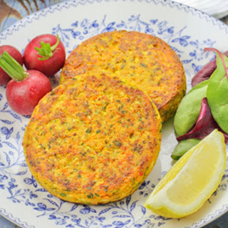 Tofu Veggie Patties [Vegan]